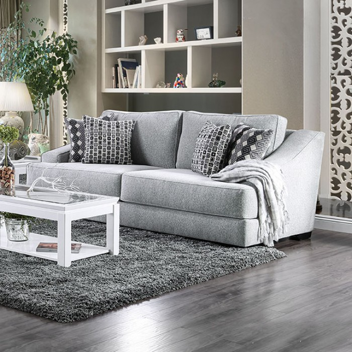 Lesath Light Gray Sofa