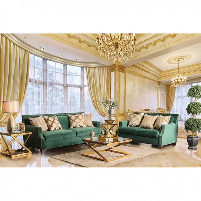 Exceptionnel Verdante Emerald Green Sofa Set