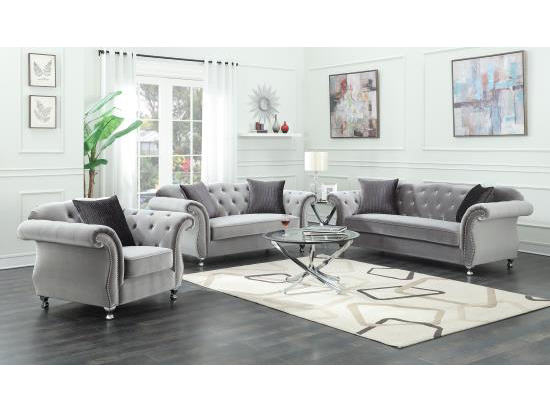 sofa more silver sofa set 50V6NUWE