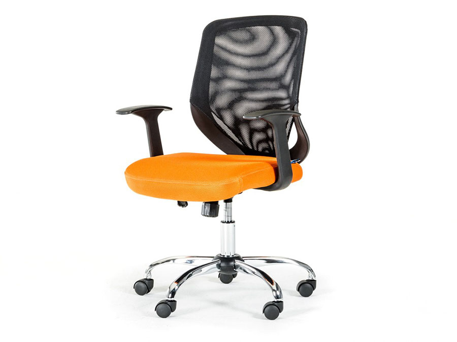 office chairs affordable home. Contemporary Home Black And Orange Mesh Office Chair To Chairs Affordable Home