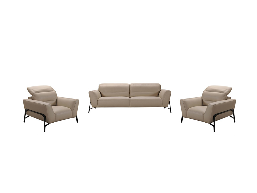 Taupe Leather Sofa & Chair Set - Shop for Affordable Home Furniture ...