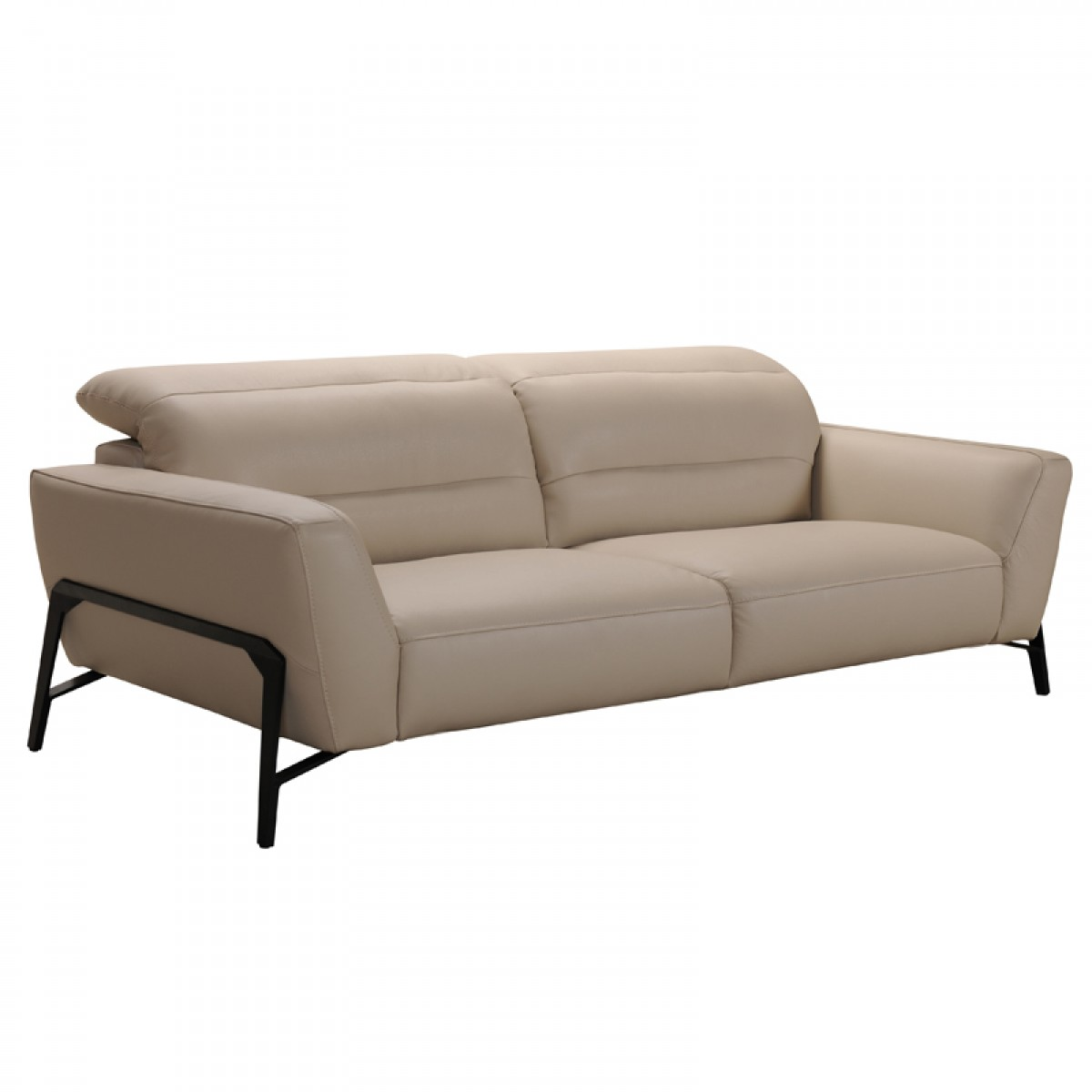 Taupe leather sofa taupe leather sofa foter thesofa for Furniture 2 u