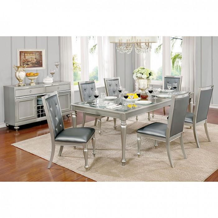 Sarina Silver Dining Set
