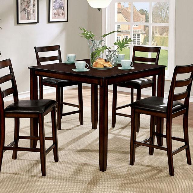 Gloria II 5Pcs Counter Height Dining Set