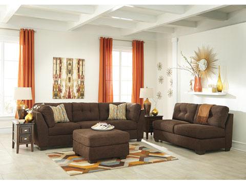 Incredible Delta City Chocolate 2Pcs Sofa Set Beatyapartments Chair Design Images Beatyapartmentscom