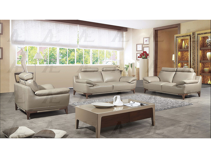 Tan Italian Full Leather Sofa Set - Shop for Affordable Home ...