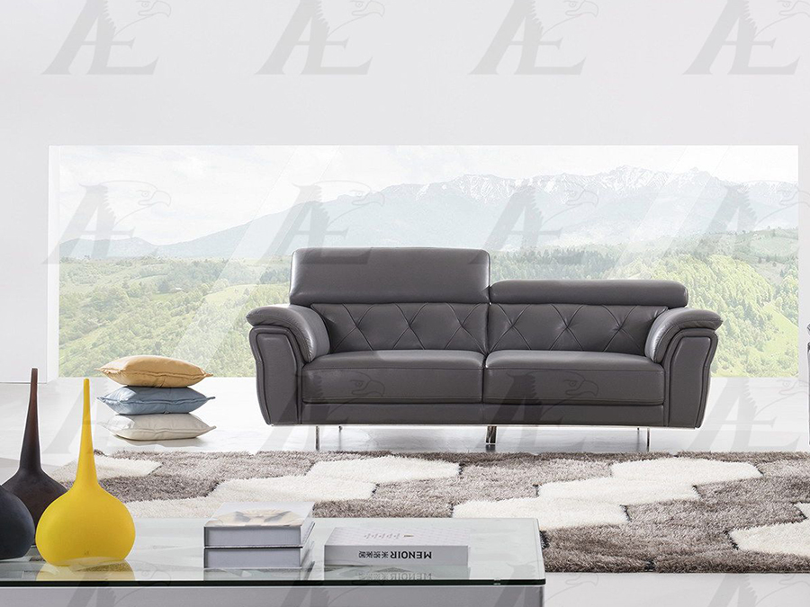 Remarkable Dark Gray Italian Leather Sofa Inzonedesignstudio Interior Chair Design Inzonedesignstudiocom