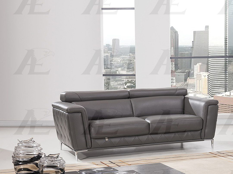 Admirable Dark Gray Italian Leather Sofa Inzonedesignstudio Interior Chair Design Inzonedesignstudiocom