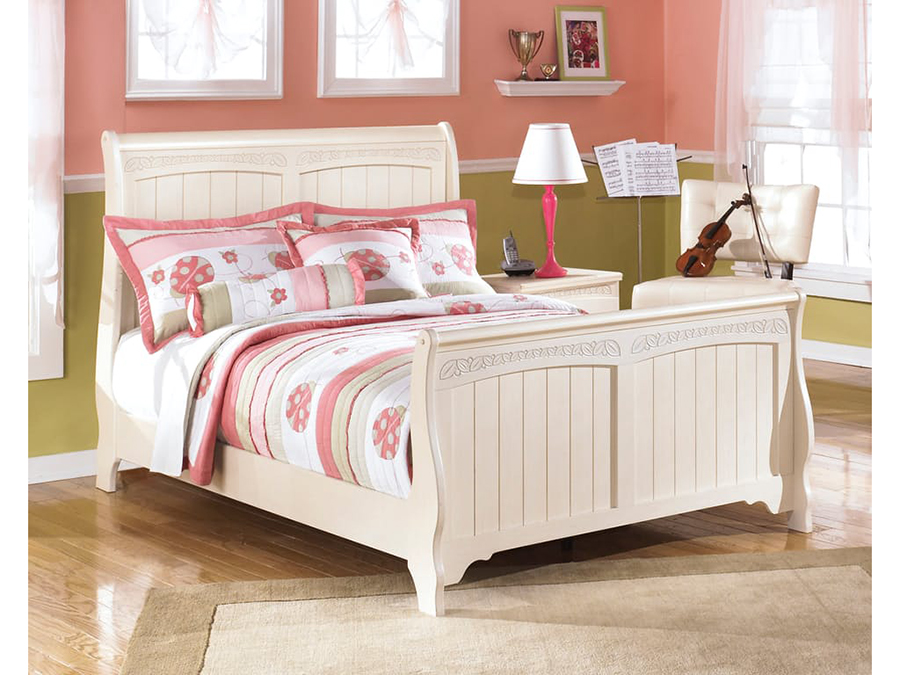 Cottage Retreat Cream Cottage Full Bed Shop For Affordable Home Furniture Decor Outdoors And