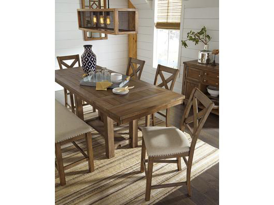 Moriville Rectangular Counter Height Dining Set