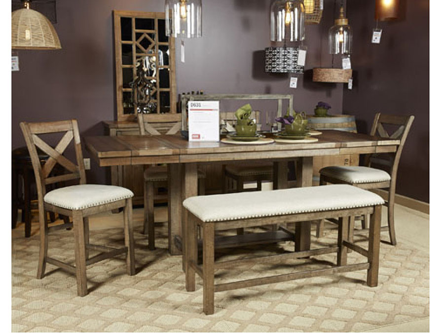 Moriville Rectangular Counter Height Dining Set - Shop for ...