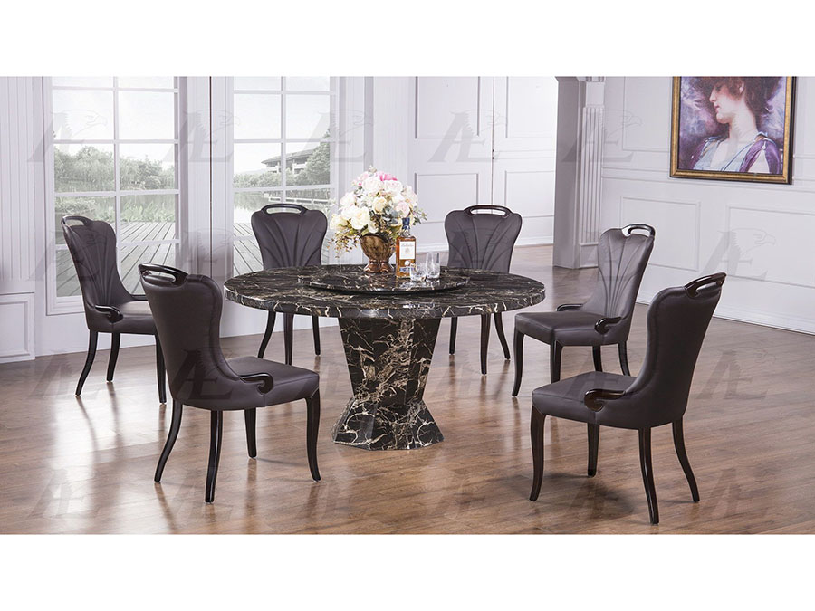 ed64b324ed Marble Top Round Dining Set - Shop for Affordable Home Furniture ...