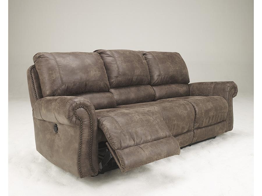 Oberson Gunsmoke Reclining Sofa