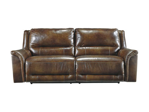Jayron Leather 2 Seat Reclining Sofa