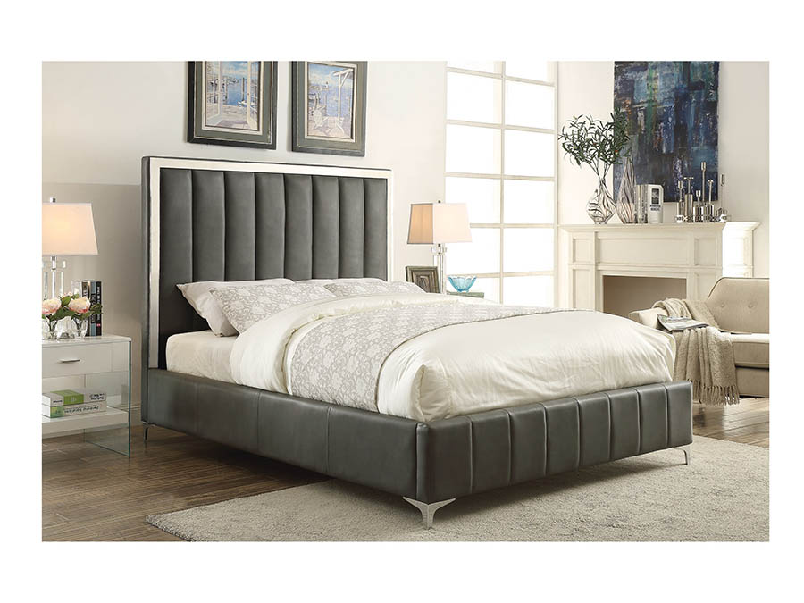 Aiden Grey Queen Bed - Shop for Affordable Home Furniture, Decor ...