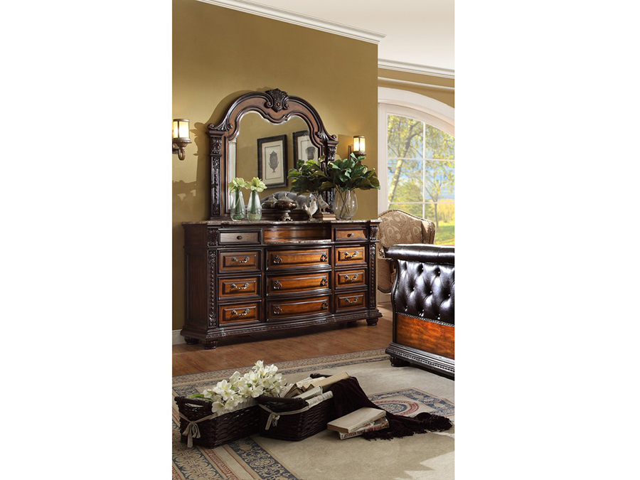 Alexandria rich cherry dresser shop for affordable home for Affordable furniture alexandria louisiana