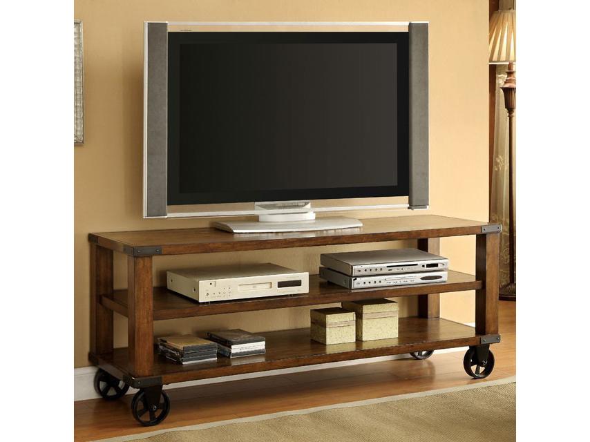 Broadus Dark Oak Tv Console