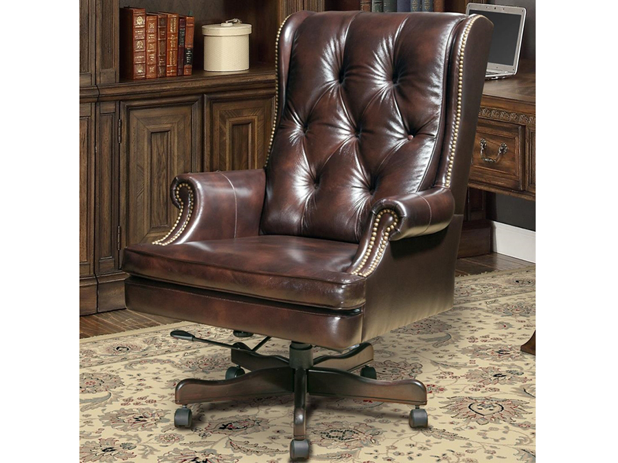 Prestige Havana Leather Desk Chair Shop For Affordable