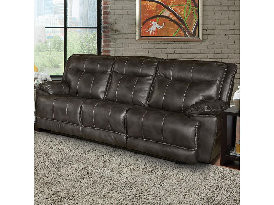Phoenix Flint Power Dual Reclining Sofa MPHO#832P-FLI