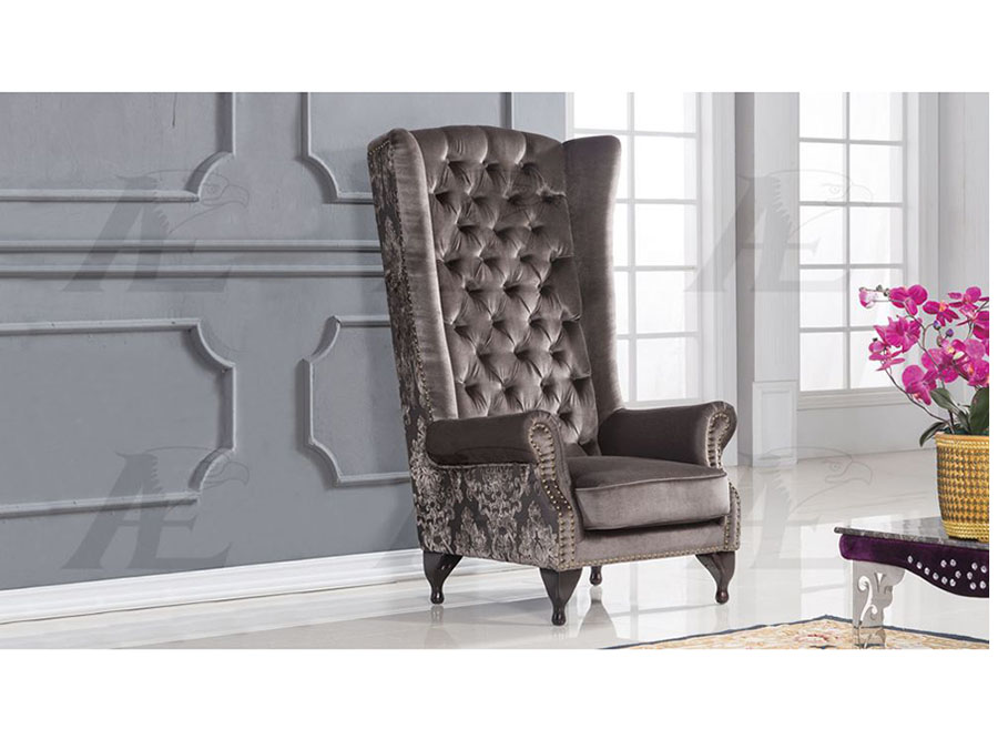 Astonishing Gray Fabric Accent Chair Andrewgaddart Wooden Chair Designs For Living Room Andrewgaddartcom