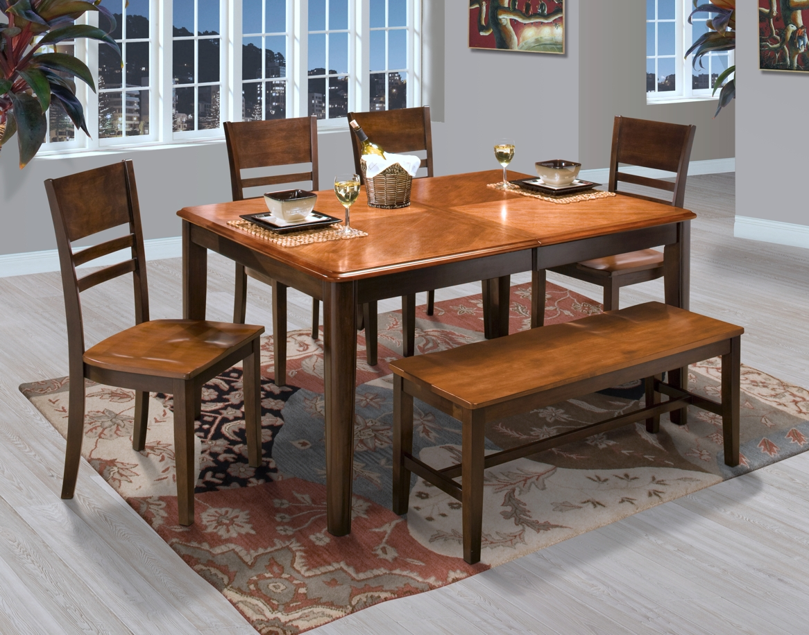Latitudes round corner dining set in two tone shop for affordable latitudes round corner dining set in two tone watchthetrailerfo