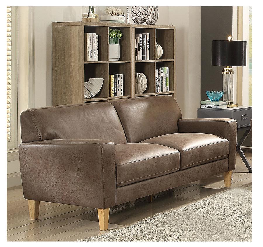 Naroryta Light Brown Sofa