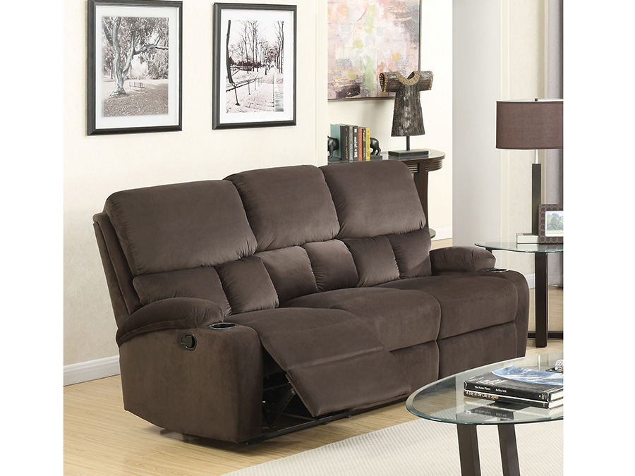 Bokair Dark Olive Motion Sofa
