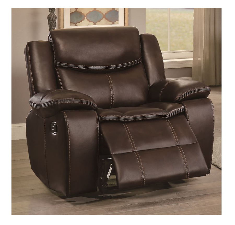 Bastrop Double Reclining Chair ... & Bastrop Double Reclining Chair in Dark Brown - Shop for Affordable ...