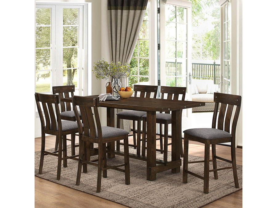 Exceptionnel Frisco Trestle Counter Height Dining Set