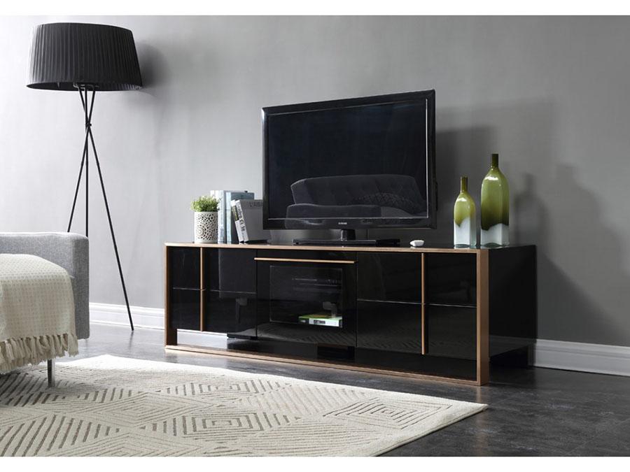 1299f4ed23fa Black & Brushed Bronze TV Stand - Shop for Affordable Home Furniture ...