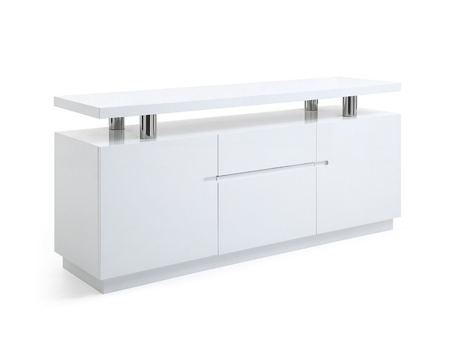 white office credenza. Alfred White Office Credenza D