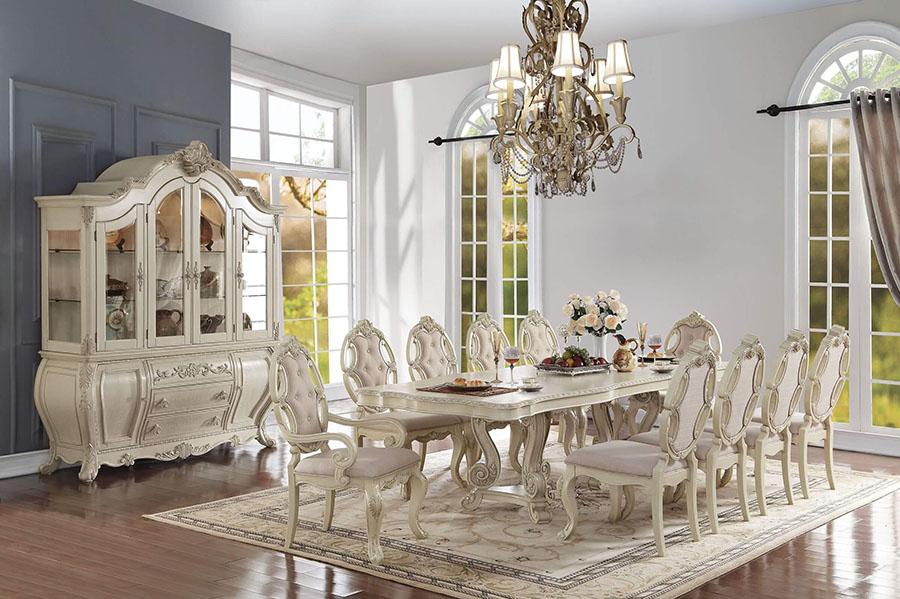 Ragenardus formal Dining Set in Antique white - Ragenardus Formal Dining Set In Antique White - Shop For Affordable