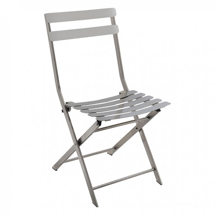 Lilah 2Pcs Stainless Folding Chair