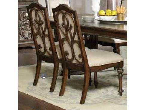 Antique Java Cream Fabric Trestle Dining Table Set - Shop for ...