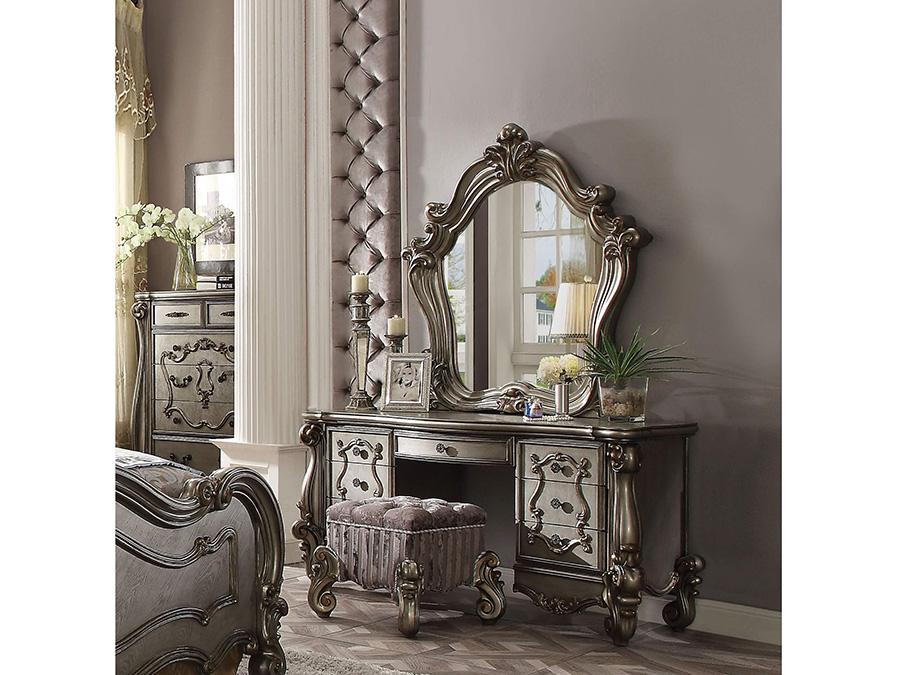 Versailles Antique Platinum Vanity Set