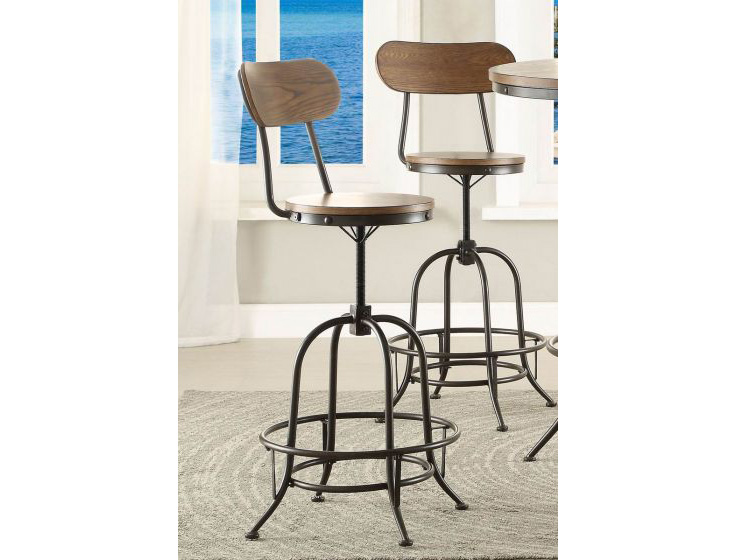 2pcs Angstrom Counter Height Chairs Shop For Affordable