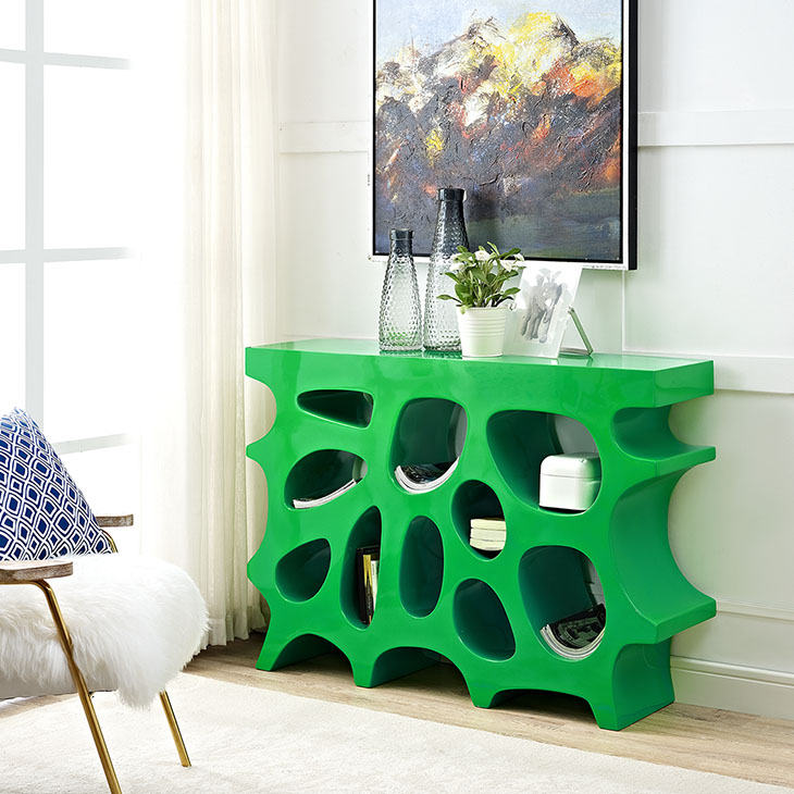 Wander Console Table In Green