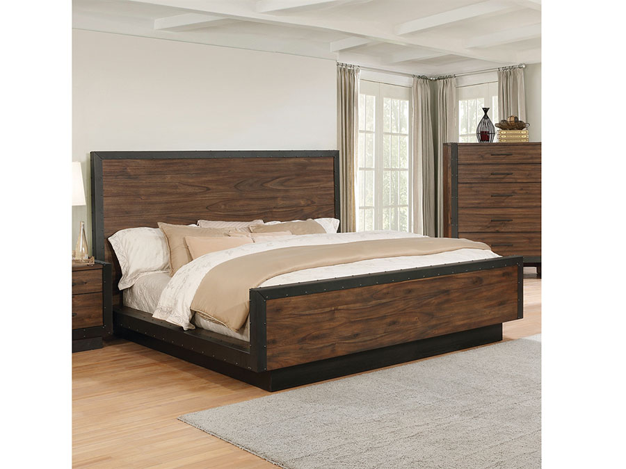 Bourbon Cal King Platform Bed