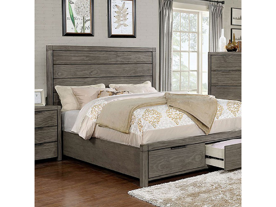 Exceptional Asterope Cal.King Storage Bed