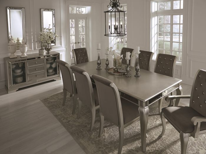 Birlanny Silver Dining Table Set - Shop for Affordable Home ...