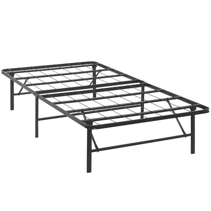 Horizon Twin Stainless Steel Bed Frame In Brown - Shop for ...