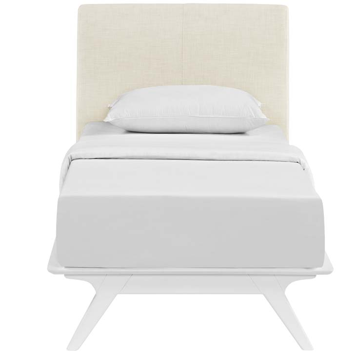 Tracy Twin Bed In White Beige - Shop for Affordable Home Furniture ...