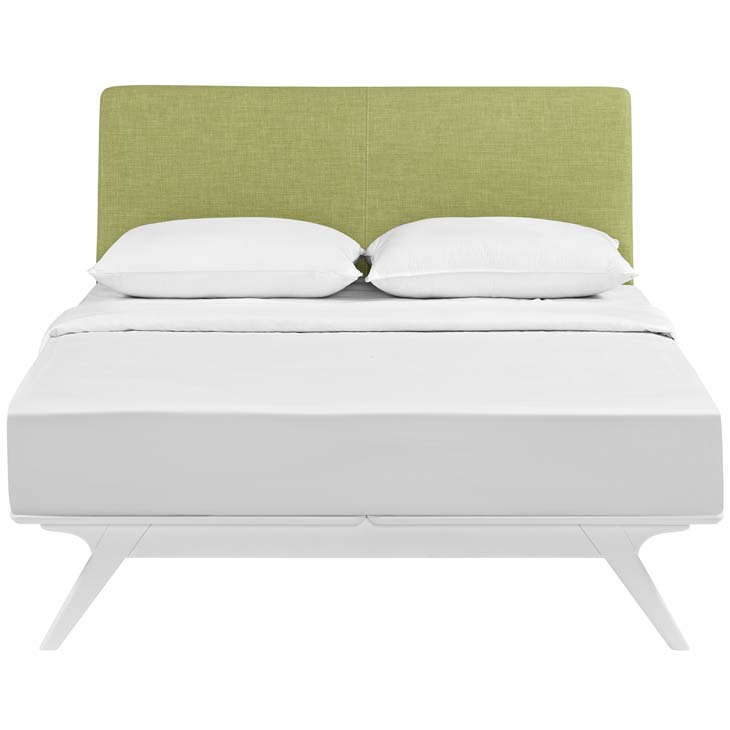 Tracy King Bed In White Green Shop For Affordable Home Furniture Decor Outdoors And More