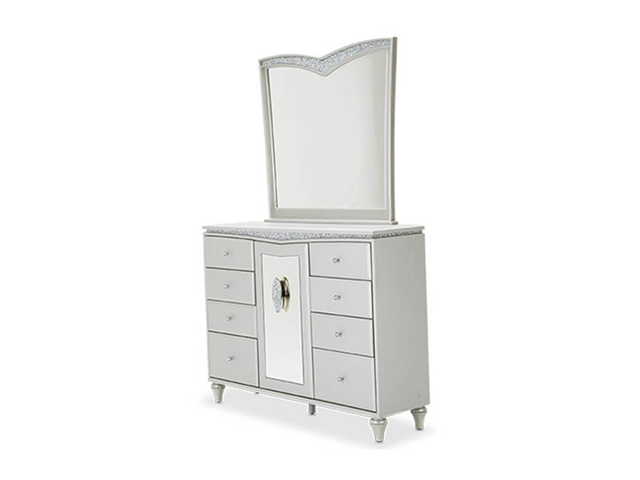 Dove Upholstered Dresser Shop For Affordable Home