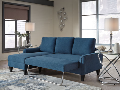 Jarreau Blue Queen Sofa Sleeper Shop For Affordable Home Furniture Decor Outdoors And More