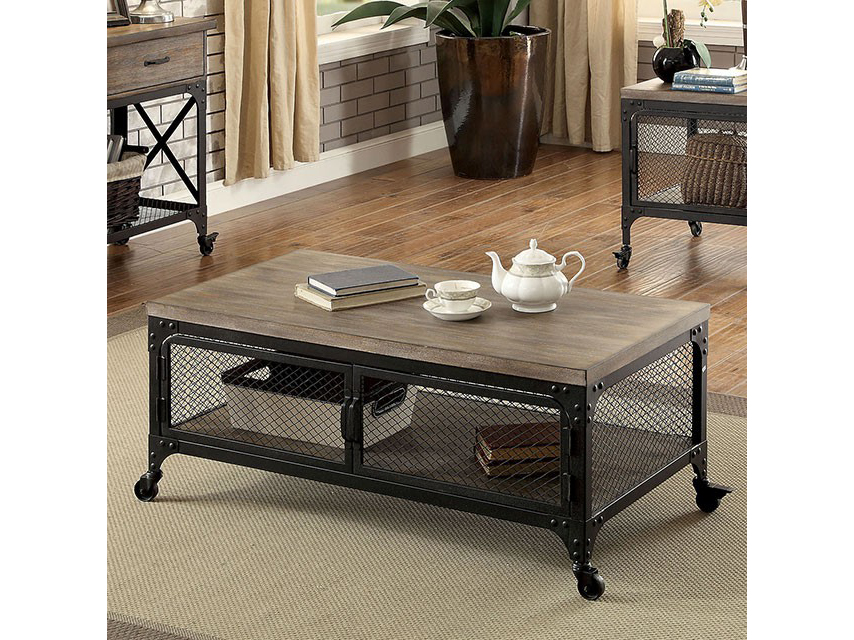 Ursula Industrial Coffee Table