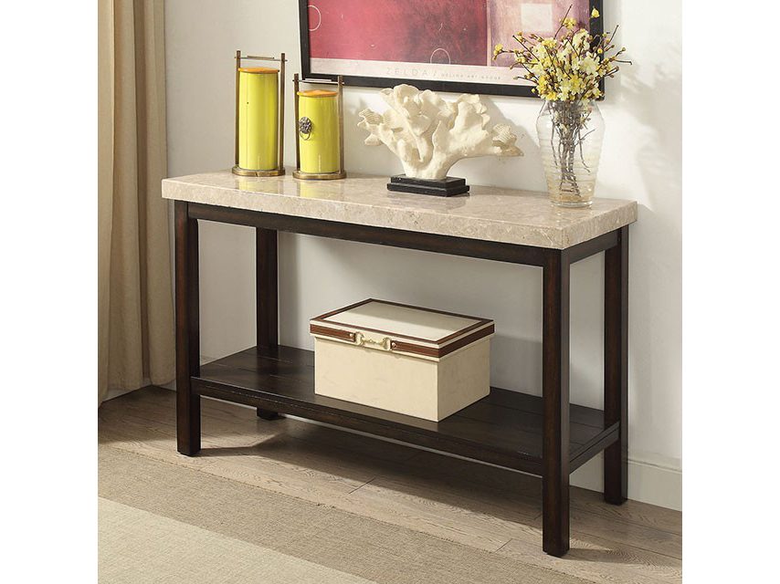 Calgary dark walnut sofa table shop for affordable home for Affordable furniture calgary