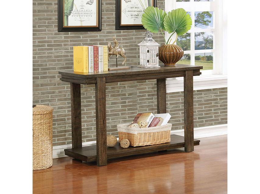 Gijon walnut sofa table shop for affordable home - Sofas gijon ...