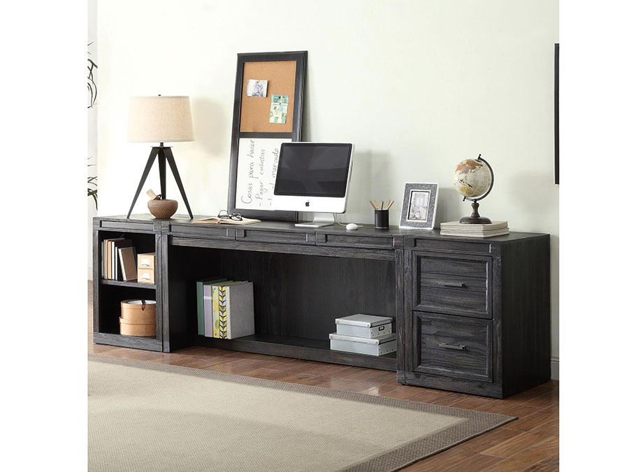 Hudson 3pcs Desk With Printer Storage