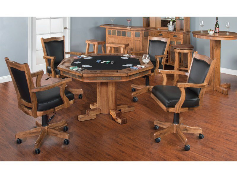 Sedona Game And Dining Table Set